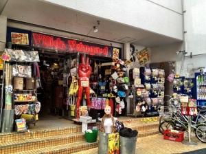 Vintage store in Shimokitazawa