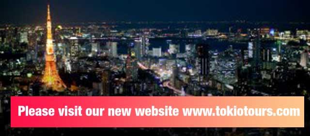 Please visit our new website www.tokiotours.com