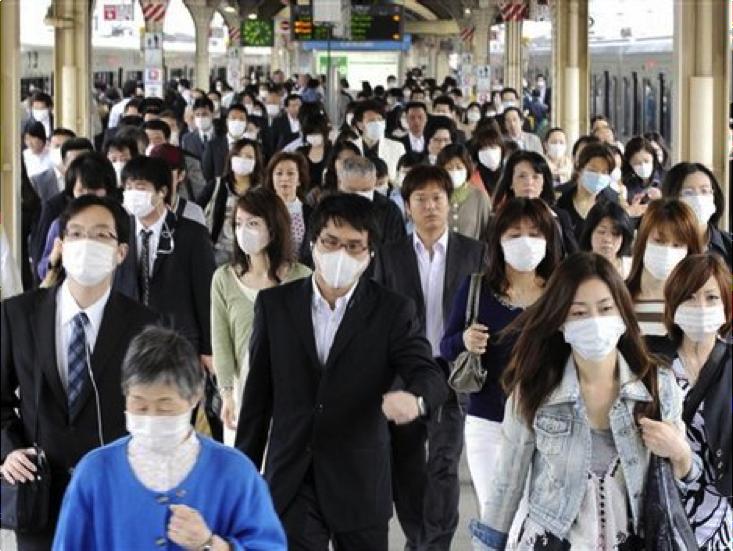 Почему японцы носят медицинские маски