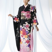 Japanese kimonos; the thing to wear