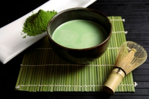 Japanese macha (espresso tea)