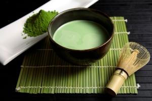 Japanese macha (espresso tea)