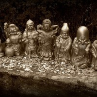 7 Lucky gods