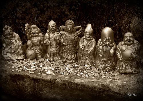 Japan's 7 lucky Gods