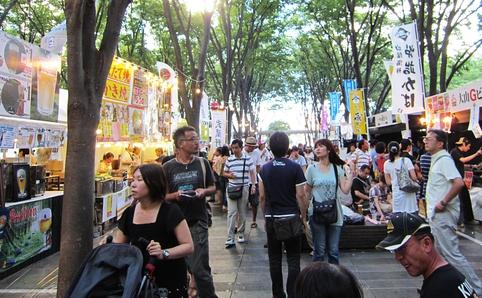 Keyaki Hiroba Spring Beer Festival