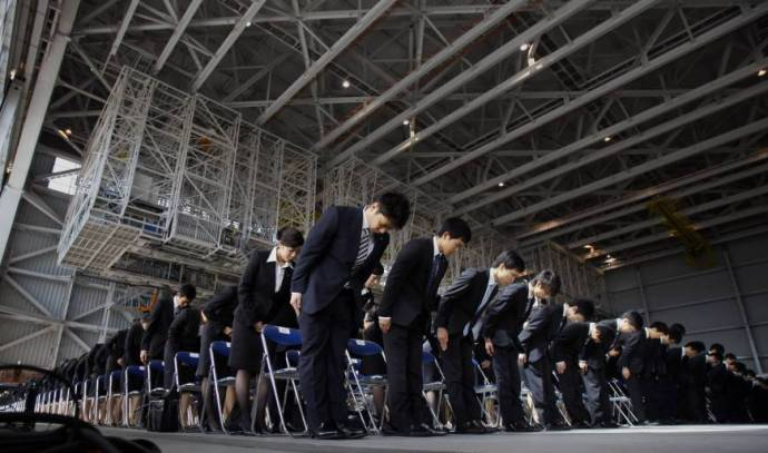 No longer peripheral: Nonpermanent employees, including part-timers, dispatch workers and shokutaku, now make up over one-third of Japan's workforce.