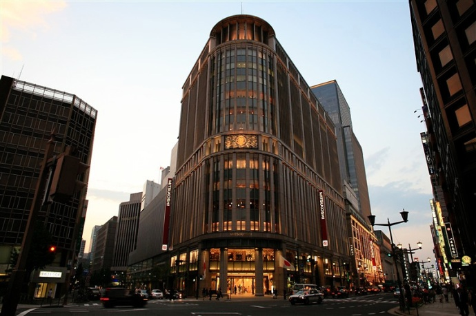 Mitsukoshi department store flagship store
