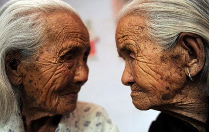 Old Japanese people