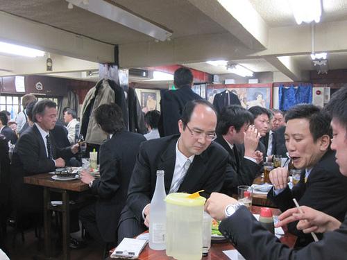Salarymen in Izakaya