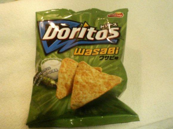 Dorito's with wasabi