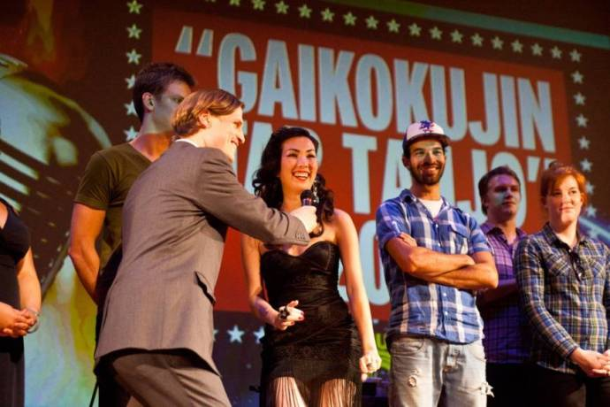 Big in Japan: A group of foreign residents compete in the 2011 edition of Gaikokujin Star Tanjo. This year's event will feature rap, dance and classical music.