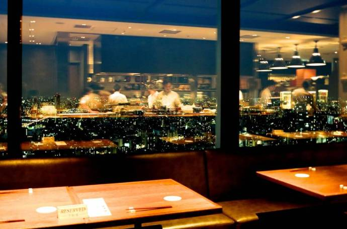 Taste of sky: Shokkan Solamachi-ten is located on the 30th floor of Solamachi's East Tower, and serves family-friendly Japanese cuisine.